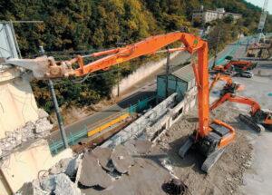 Экскаватор разрушитель Hitachi ZX350LCK 3 Demolition