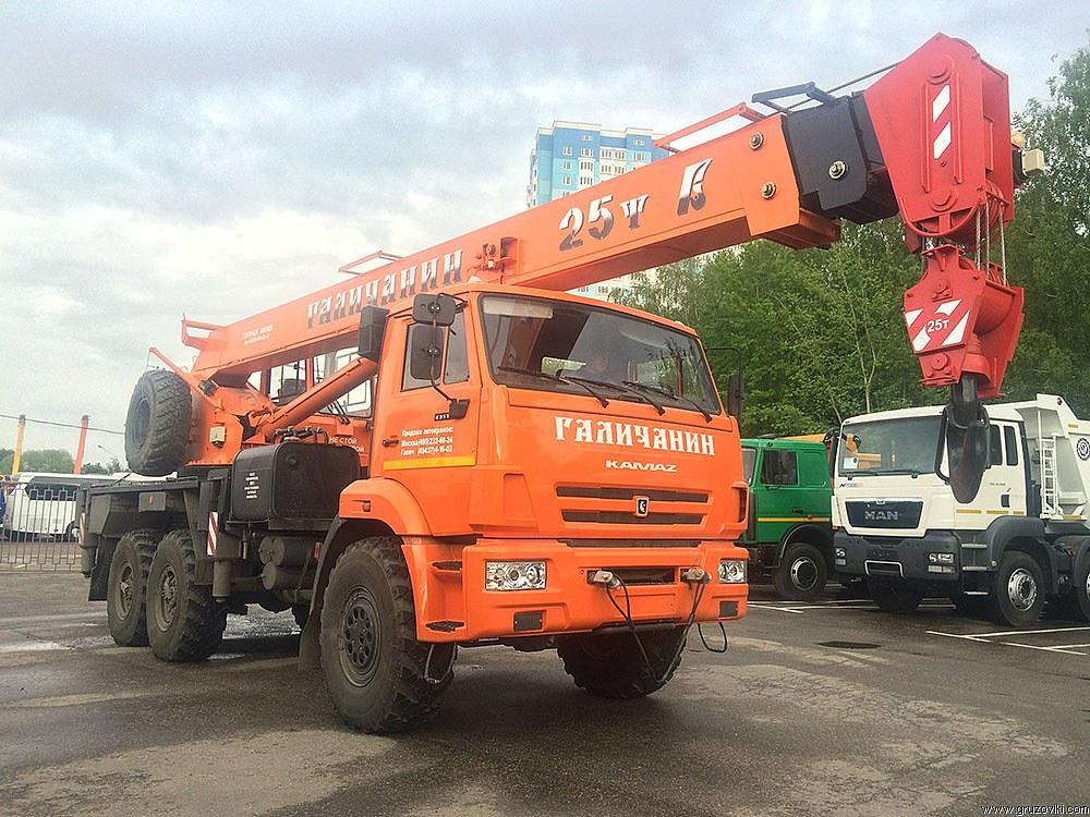 Автокран Камаз 25 тонн - #0