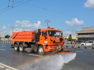 Поливомоечная машина КамАЗ-43253