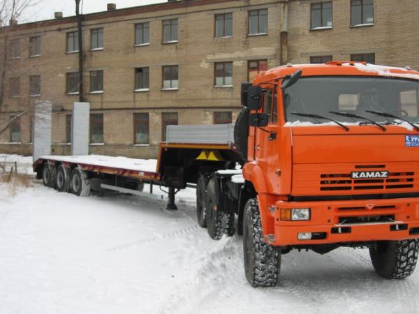 Трал г/п 40 тонн