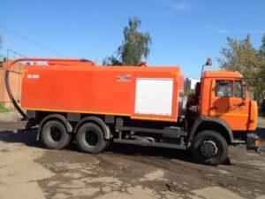 Каналопромывочная машина К 560