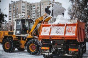 Уборка и вывоз снега